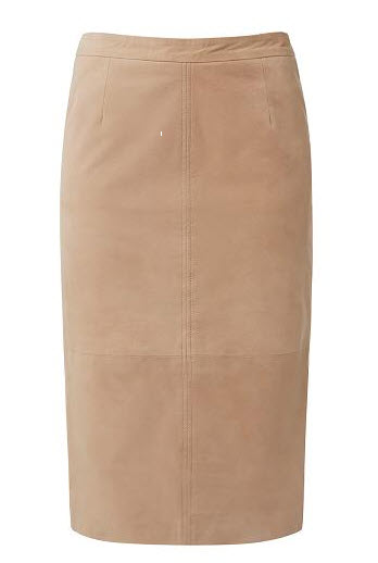 seed suede style skirt