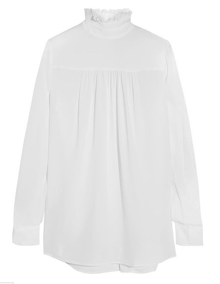 white shirt netaporter