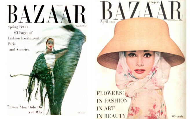 harpers bazzarr covers x 2