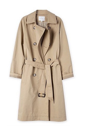 trenery db trench onsale