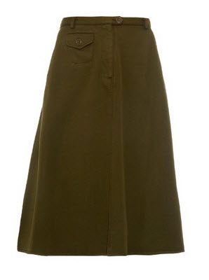matches japanese khaki skirt