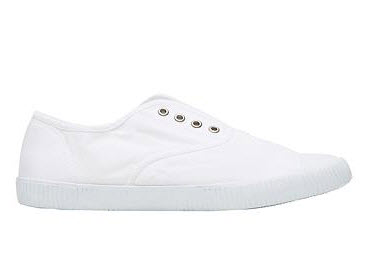 seed white slip on sneakers