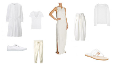 white holiday dressing