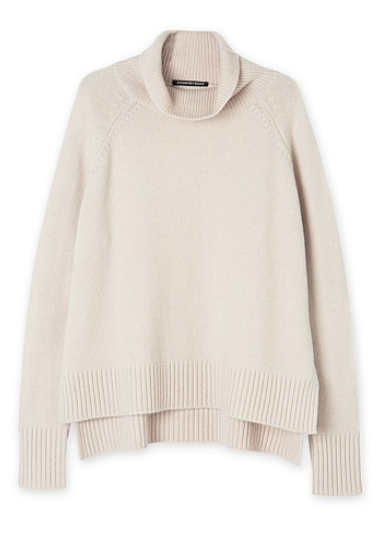 c road sweater roll neck