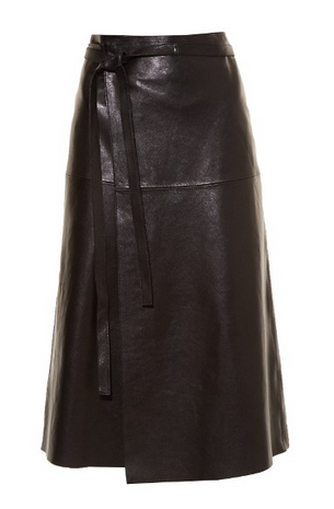 isabel leather skirt png