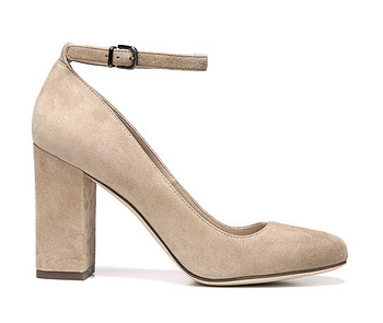 via spiga suede pumps