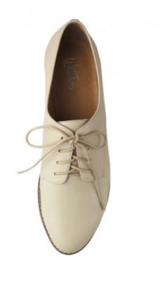 wittner laceup brogues white