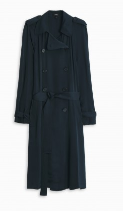 theory trench navy