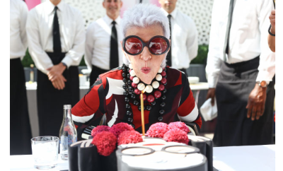 iris apfel quotes 95th birthday