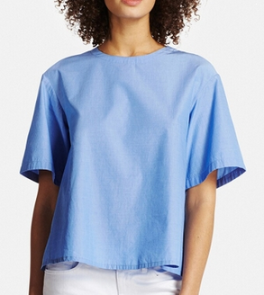 light-blue-uniqlo-top
