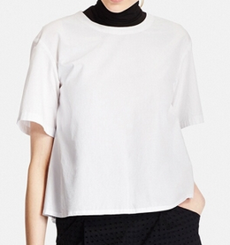 white-uniqlo-top