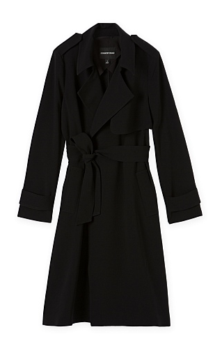c road trench black