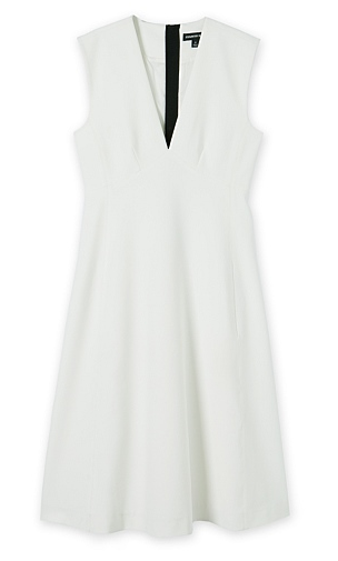 c road white dress