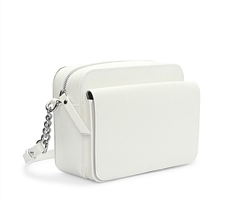 c road white mini bag