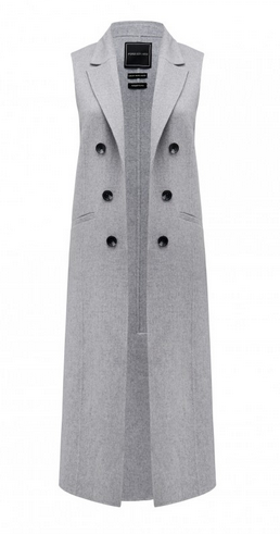 forver new grey vest