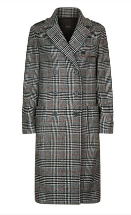 maje prince of wales coat