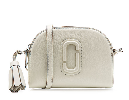 marc jaocbs white mini bag
