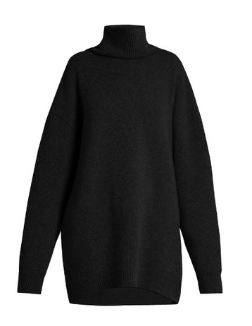 matches sweater black