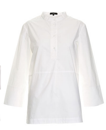 saba white shirt