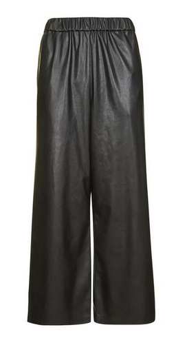 topshop blk pleaher pants