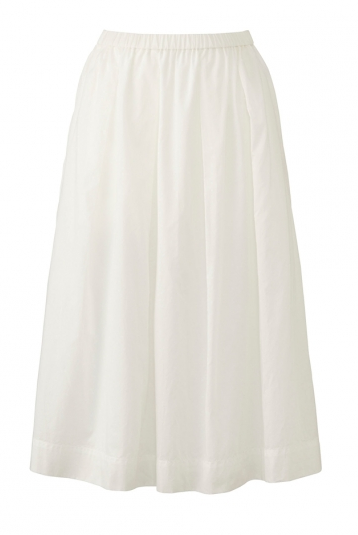 uniqwlo white skirt