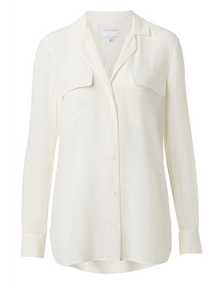 witchery white shirt