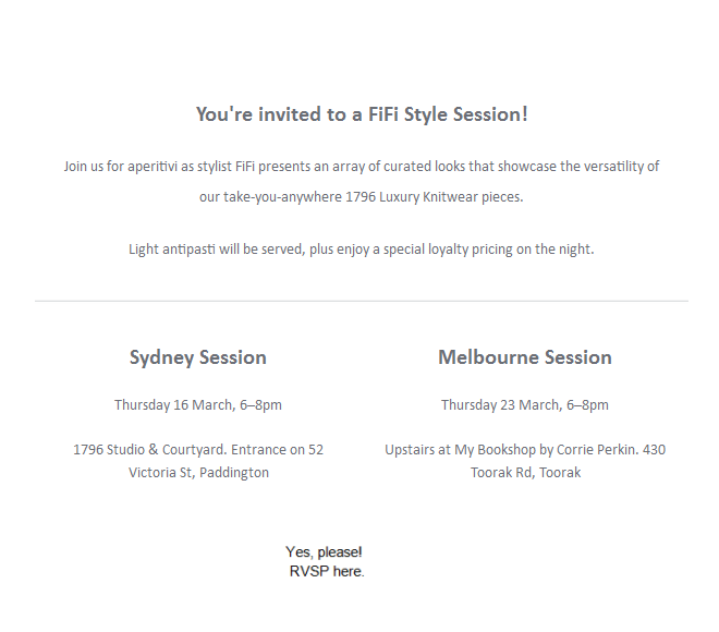 1796 invite fifi style session RSVP