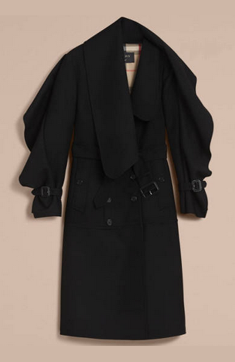 burberry trench long