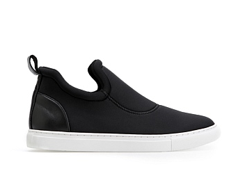 country Road platform sneakers blk