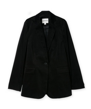 country road velvet blazer