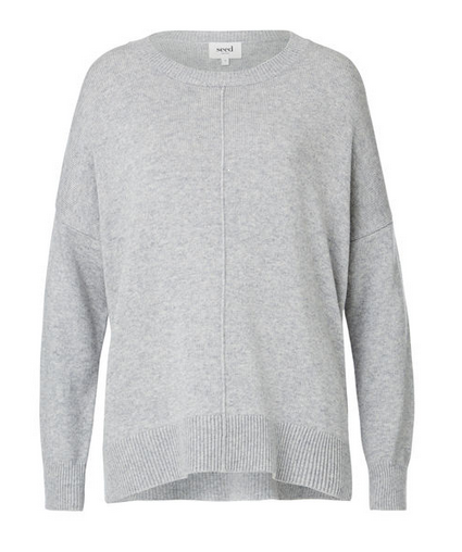 seed grey sweater