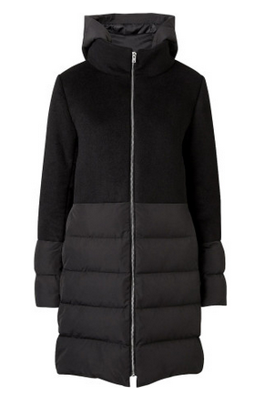 witchery puffa jacket long