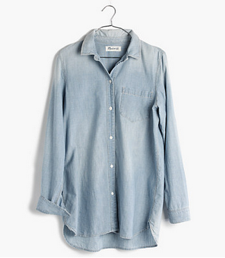 madewell shirt denim