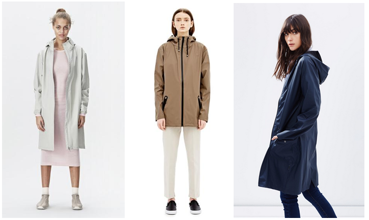 rains parka moon navy and brown