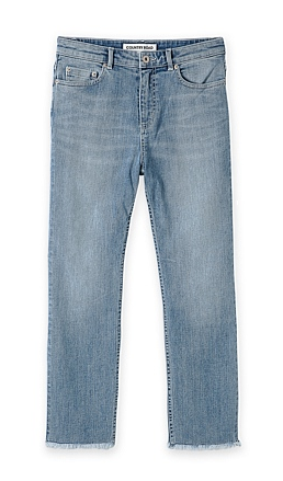c road frayed jeans