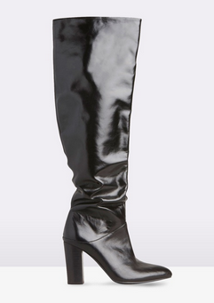 theiconic blak knee boots