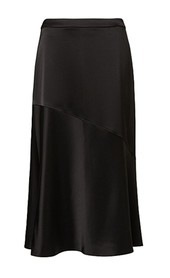 witchery black flirty skirt