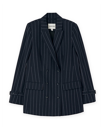 country road pinstripe blazer