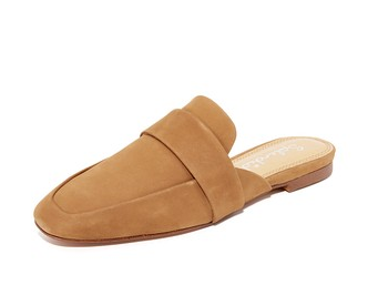 shopbop sueded mules