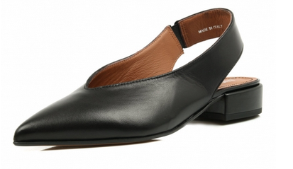 midas sling back pointy toe