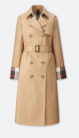 uniqlo JW trench