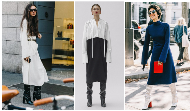 f2dbb9a506 How to wear long boots & long skirts. #stylingtrick. – The FiFi Report
